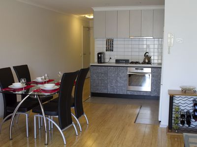 Photo for City Edge Apartment, Spacious Terrace, Views to Melbourne City