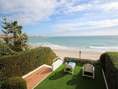 Photo for Aqua Villa with sea views 50m from the beach in Campoamor