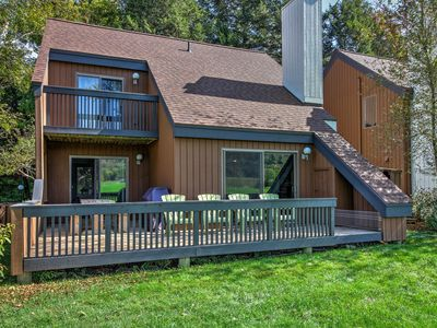 Photo for Stowe Townhome w/ Deck, Mtn Views & Resort Perks!
