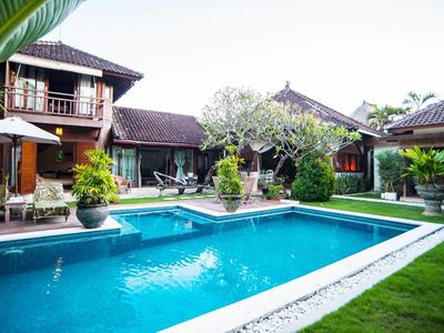 Photo for Flora, 3 Bedroom Villa with large pool,central, Seminyak