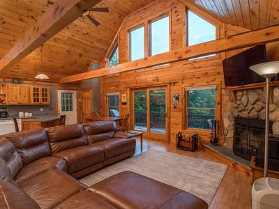 Photo for Cozy Cabin, Perfect for Year Round Getaways