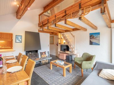 Photo for Beautiful duplex with fireplace in Meribel Altitude 1600
