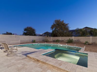 Photo for Peoria Desert Splendor - Large Family Friendly Home with Heated Pool