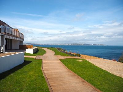 Photo for Lapwing 1, The Cove - Modern apartment with sea views from large terrace - sleeps 4