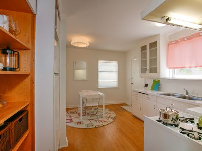 Kitchen - This fully private unit can be rented with the larger house on the property for bigger groups