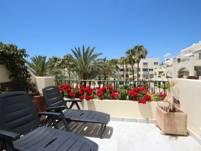 Photo for Great apartment 3 minutes from the beach with sea views and Free Wifi