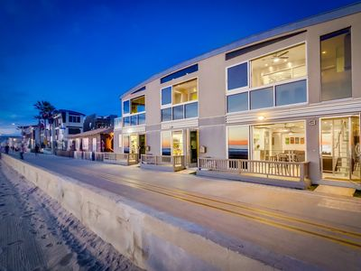 Photo for 60' of Ocean Front • 2 Levels • AC • 3 Townhomes