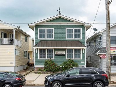 . Convenient off street parking allows you to park your car and walk to the beach and boardwalk!  Located across the street from Wawa and directly behind lots of great Asbury Avenue restaurants and stores.