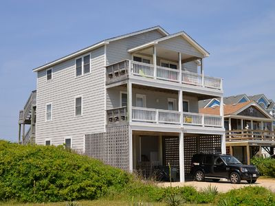 Photo for Upgraded home in Nags Head- Private Pool - Beach is Close