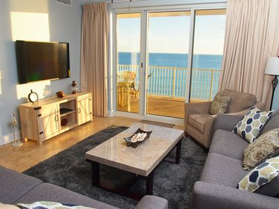 Photo for Newly Remodeled Ocean Reef 2 Bedroom 2 Bath Condo, Gulf-Front, HUGE Balcony