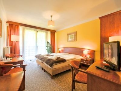 Photo for Double Room Waldblick - Jagdschloss Waldsee