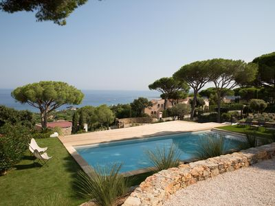 Photo for Sainte Maxime La Nartelle: Villa Heaven Blue, Sea View, Pool
