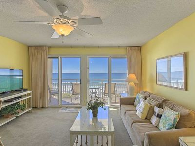 Photo for Crystal Sands 209A - Gulf Front, Gulf View, Free Beach Service, Community Pool!