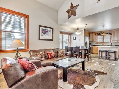 Photo for Updated Deer Valley Townhouse w/Private Hot Tub, Easy Access to Old Town and DV