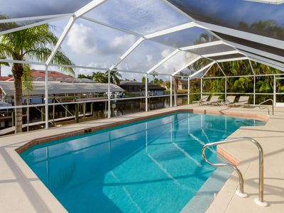 Photo for Gulf Access Waterfront, Heated Pool, New Furnished, Sleeps 8