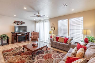 Living Room - Watch your favorite show and relax in the Living Room after a long day of adventures