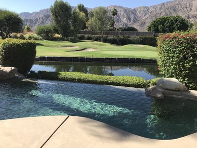 Photo for Beautiful pool home with Mtn and Golf Course Views