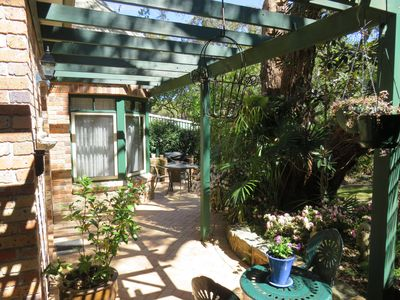 Photo for Charming Three bedroom cottage  walking distance to the beach