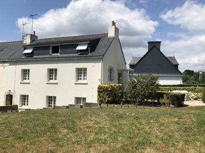 Photo for Apartment / house 6 people - Quiet at 750 m from the sea - CLOHARS-CARNOËT