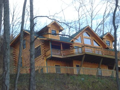 Executive Log Home