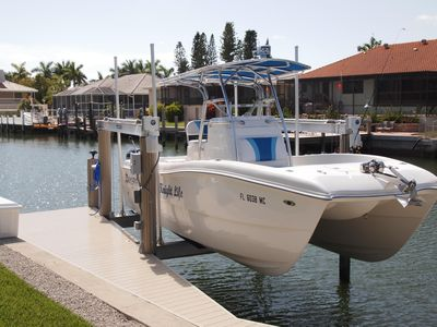 Photo for Boat available!! Walk to beach in brand new 4/4 with quick gulf access.