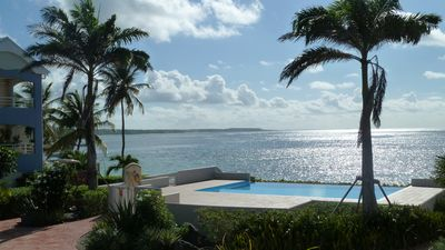 Photo for Luxurious apartment on the edge of the lagoon of Sainte-Anne