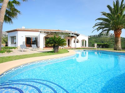 Photo for Stunning private villa with private pool, WIFI, TV, washing machine and parking