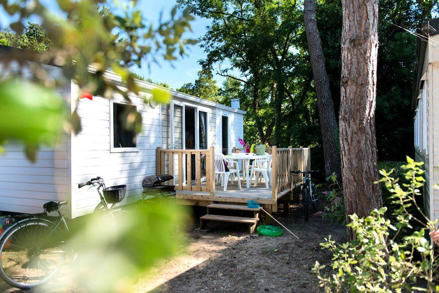 Siblu Village Camping Domaine De Kerlann Mobile Home Esprit 3 Rooms 4 6 People Pont Aven