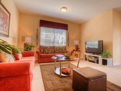 Photo for Stunning 3-bedroom first floor condo with warm decor & relaxing patio.