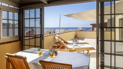Photo for Top equipped penthouse above the roofs of Morro Jable