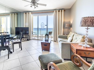 Photo for 7th Floor Bay View Condo w/ Steps To The Beach, Short Drive To Dining