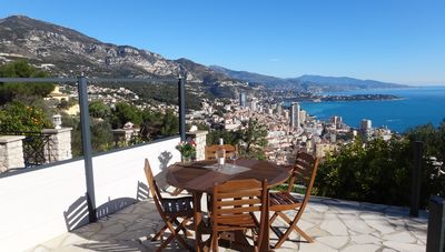 Photo for Monaco1,5km / 25 km from panorama Monaco-Bordighera / Furnished accommodation *** / Garden