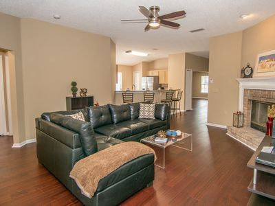 Photo for Modern, Private, Pet Friendly home with Water View. Convenient to Downtown/Beach