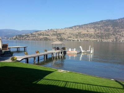 Photo for Fabulous Okanagan Landing Lakefront with large Dock & Boat Lift- great location!
