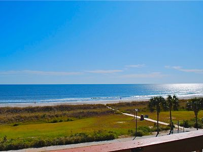 Oceanfront Family Friendly Condo- Beautiful Views! Steps to the Beach