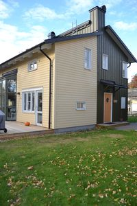 Photo for Modern family villa on two levels, close to the sea. Protected mode. 20 min to Stockholm