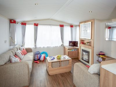 Photo for Vacation home Caravan Perran Sands in Perranporth - 6 persons, 3 bedrooms