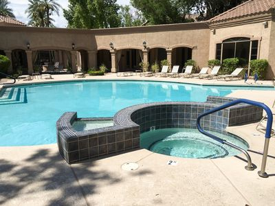 Outdoor Space - Make a splash in 2 resort-style pools and spas on the property.