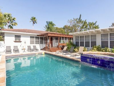 Photo for Casa Blanca Estates in the ❤️ of Miami minutes to the beach/Pool
