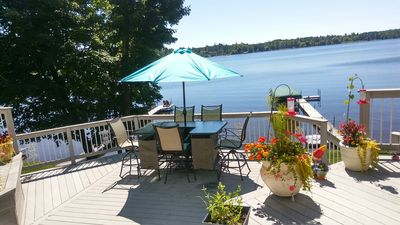 Photo for A Gem of a lake home on Gorgeous Pike Lake 15 Minutes From The Duluth Harbor