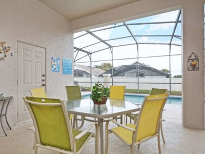 Photo for South Facing Pool, theater room, family friendly, 3 miles to Disney, community
