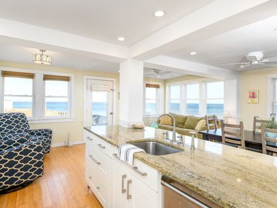 Photo for The Beach House.  Oceanfront & Sunrise Views!