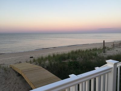 Photo for Quiet Vacation Home, Beach Front, Open Concept, Great Views