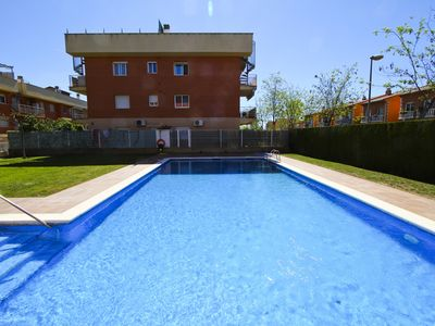 Photo for BUDAI terrace with barbecue and community pool
