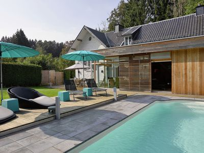 Photo for Plushy Holiday Home in Spa with Whirlpool & Pool