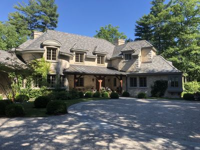 Photo for A grand French country home on lake Sunapee, 35 min from Dartmouth college..