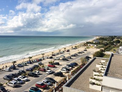 Photo for ~ Feet in the water ~ sea view ~ direct beach / spa access at 20m ~ @