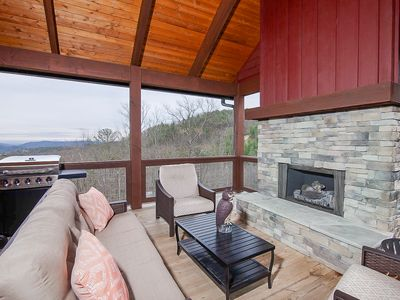 Photo for 3BR/2BA Chic Upscale Cottage at Blue Ridge Mtn Club, Views, Outdoor Fireplace, Fitness Facility, River Access