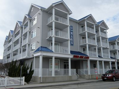 Photo for Bel Mare 201 - 3 bedroom 2 bath condo downtown near boardwalk with pool and wifi