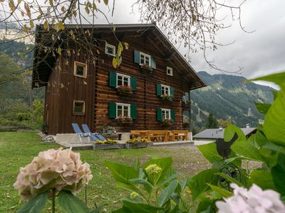 Photo for Montafon farmhouse with terrace, garden, playground, sauna and wood stove